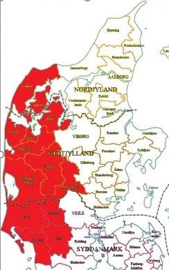 Jyllandskort
